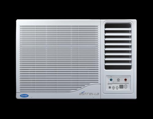 Carrier Estrella N 12K 3 Star Window AC with Dust Filter (1.0T, 2021 model, White)